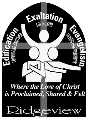 Edification, Exaltation, Evangelism graphic